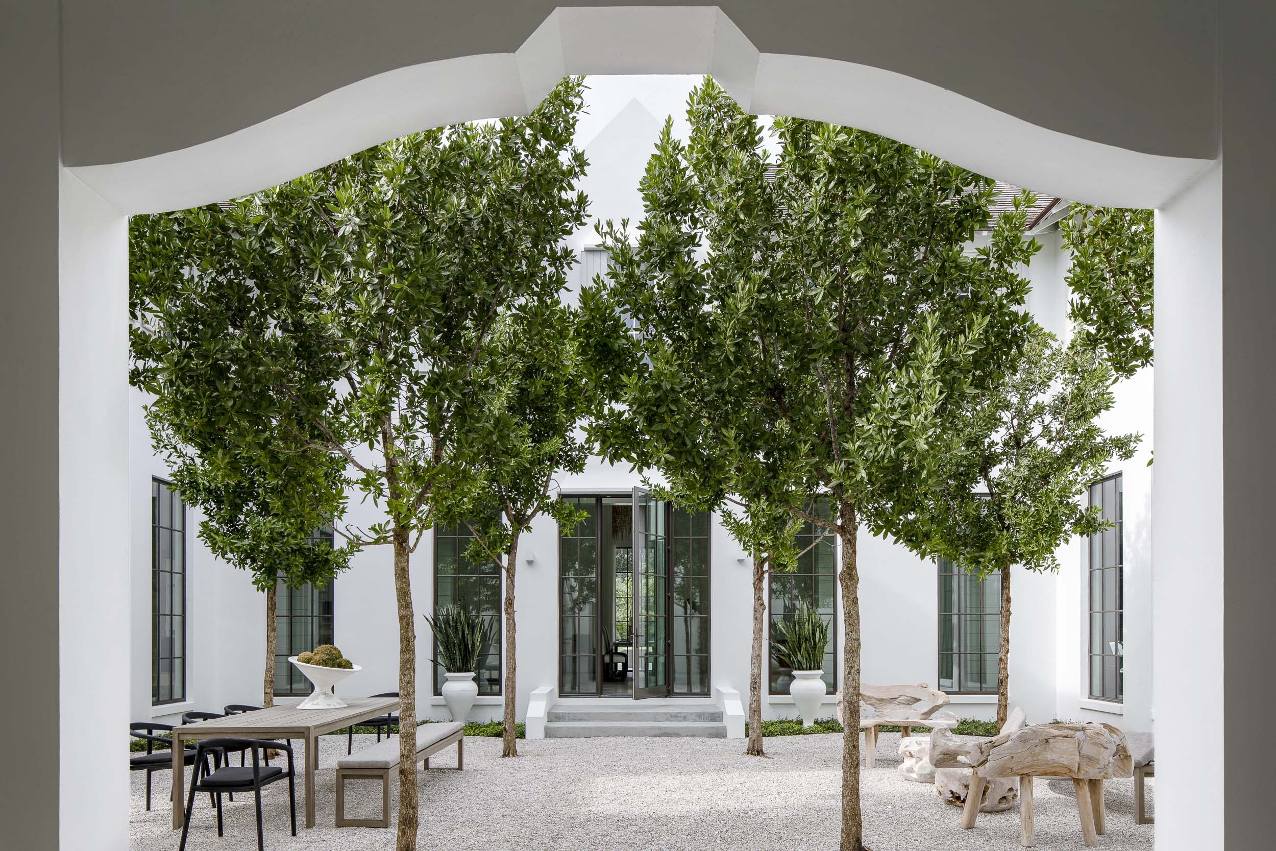Courtyard by Moor, Baker & Associates and Olivia O